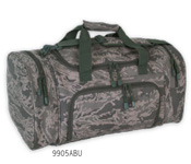 ABU camo sport locker bag