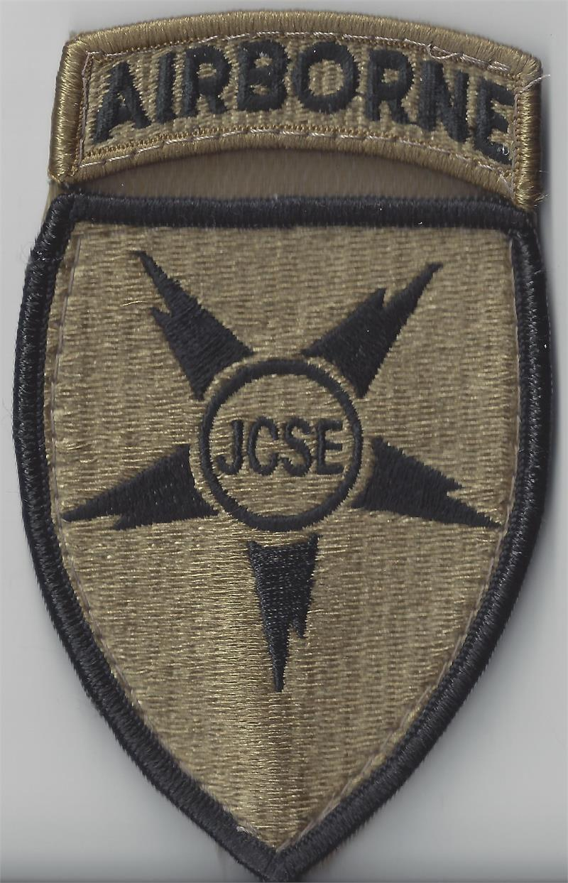 SOCOM, Airborne patches with velcro