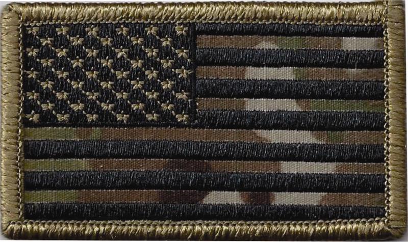Multicam/OCP Army Flag Patch w/velcro