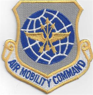 Air Mobility Command Patch With Velcro